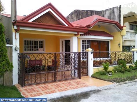 home design for bungalow bungalow house plans philippines design small two bedroom