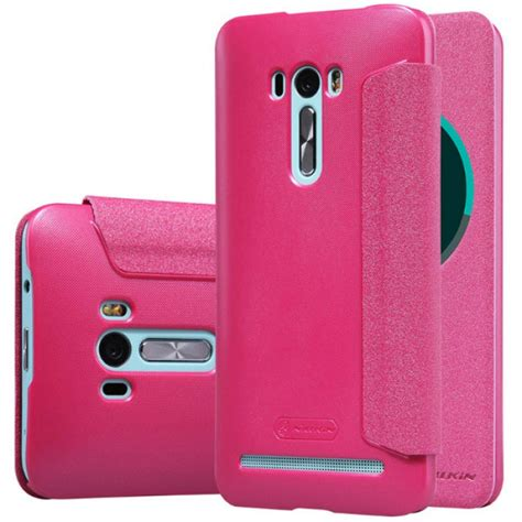 Jual Nillkin Sparkle Leather Flipcover Asus Zenfone Selfie Ba jual nillkin sparkle flip cover asus zenfone selfie