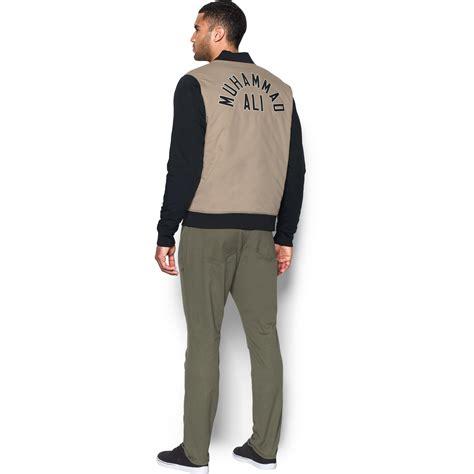 Sweater Armour Muhammad Ali K21 lyst armour s ua x ali varsity jacket for