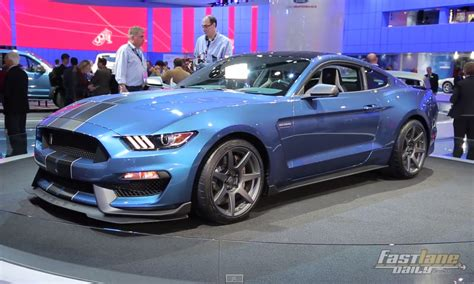 Cobra Auto 2016 by 2016 Ford Mustang Shelby Gt350r 2015 Detroit Auto Show