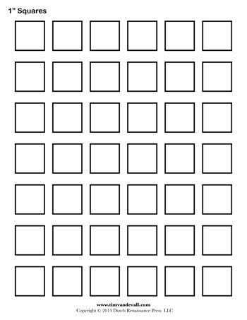 Free Printable Square Labels