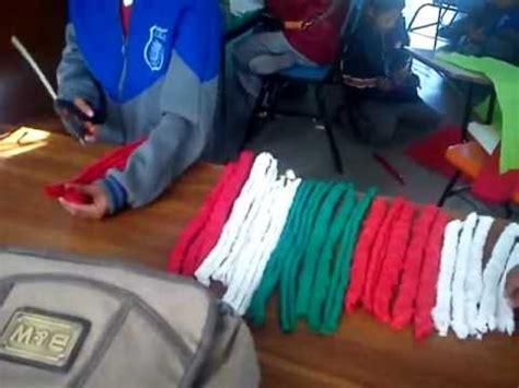 ideas para hacer banderas q represente a la familia manualidad para crear bandera de m 233 xico youtube