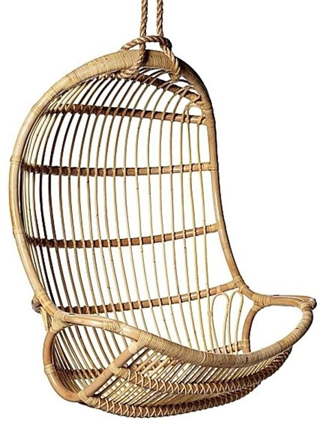 rattan swing hanging rattan chair contemporary hammocks and swing chairs