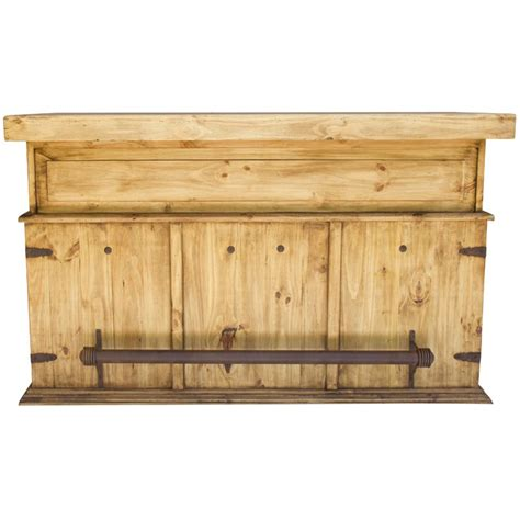 Rustic Bar Rustic Bar With Wood Top