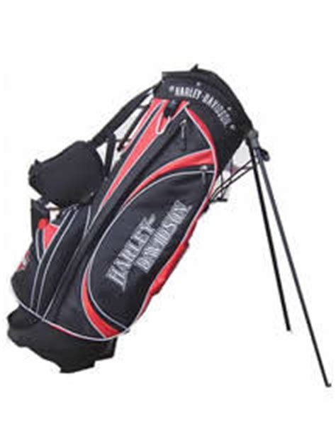 Harley Davidson Golf Bags by Harley Out Of Helpful Snowman