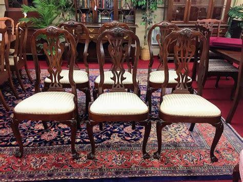 councill craftsmen mahogany dining chairs bohemians