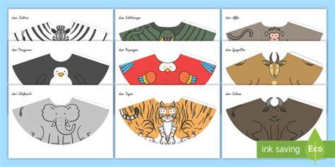 figuren aus papier schneiden zootiere kegel figuren zum basteln aus papier zoo