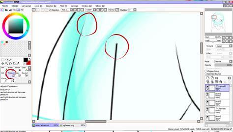 cara paint tool sai cara belajar paint tool sai part 1 original forum