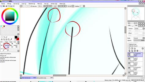 tutorial belajar paint tool sai cara belajar paint tool sai part 1 original forum