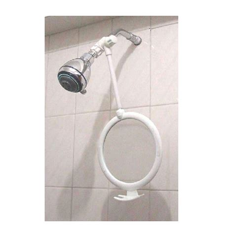 Fogless Bathroom Mirror Zadro Fogless Shower Mirror In White Zw01 The Home Depot