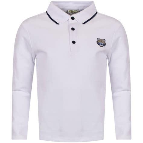 Polo Shirt Kenzo Premium kenzo junior kenzo junior white tiger logo sleeve