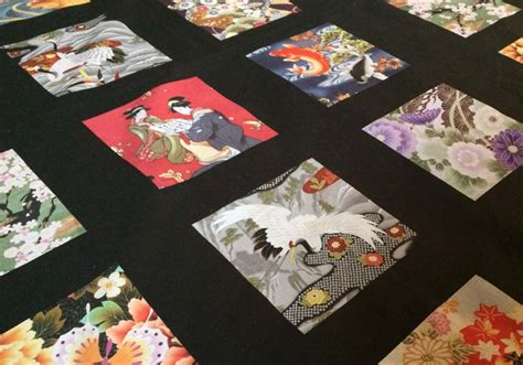 Gails Patchwork - asian fabric japanese fabric asian style fabrics kona
