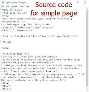 simple website source code html html code page html css basics jan s working with