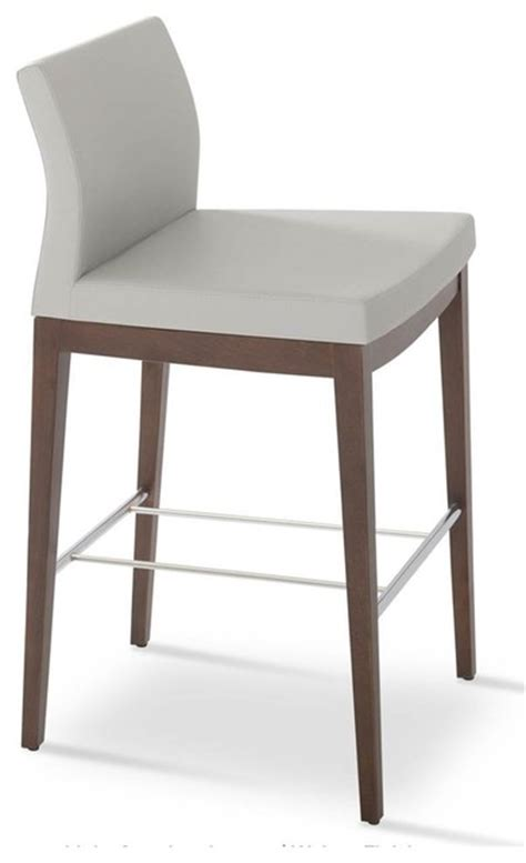 Low Wooden Stools Low Stools Light Wood Lounge Bar Furniture Wooden | wooden low back stool light gray contemporary bar