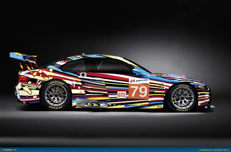 design art racing ausmotive com 187 bmw art car by jeff koons to race at le