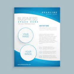 corporate brochure template vector free