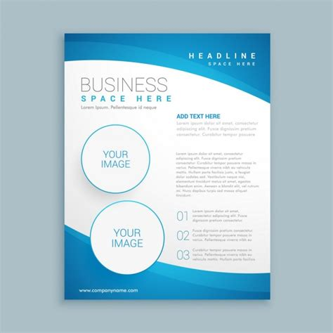 company brochure templates corporate brochure template vector free