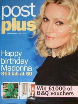 post plus magazine madonna cover 3 august 2008
