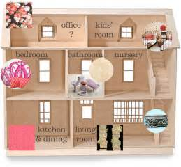 Dollhouse Floor Plans by The Dollhouse Floor Plan Making It Lovely