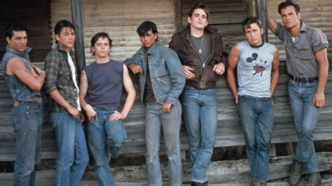 the outsiders film starring c thomas howell matt rob lowe visits the outsiders house following 50th