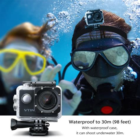 full hd video test die vtin eypro full hd 1080p action cam im test