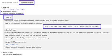 google site verification  ways  verify  search