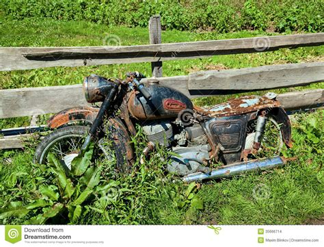 2 Car Garage Plans old classic motorcycle editorial stock image image 35666714