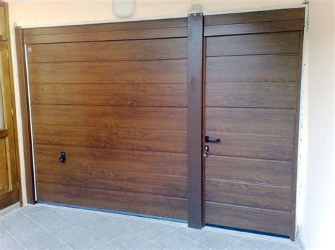 portone sezionale garage prezzi progetto installazione portone sezionale hormann con porta