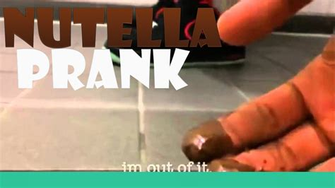 Nutella Bathroom Prank by Toilet Prank Nutella