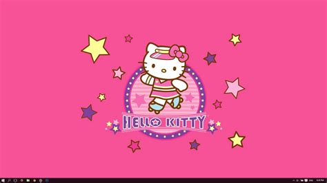 hello kitty wallpaper for windows 7 free download hello kitty theme for windows 10 8 7