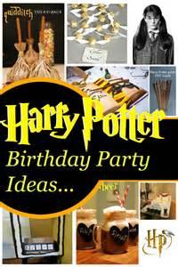 Inspirational harry potter birthday party ideas