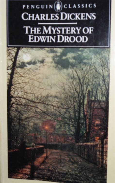 biography of charles dickens book i prefer reading the mystery of edwin drood charles dickens