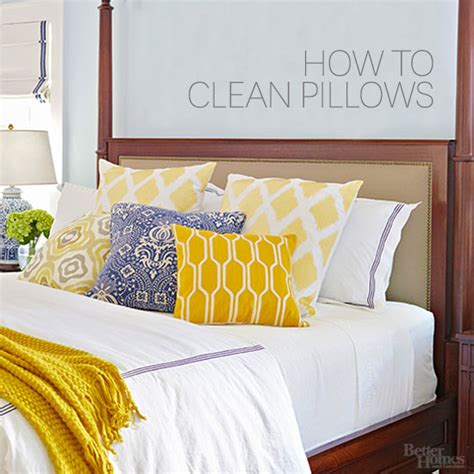 How To Freshen Pillows - how to clean pillows