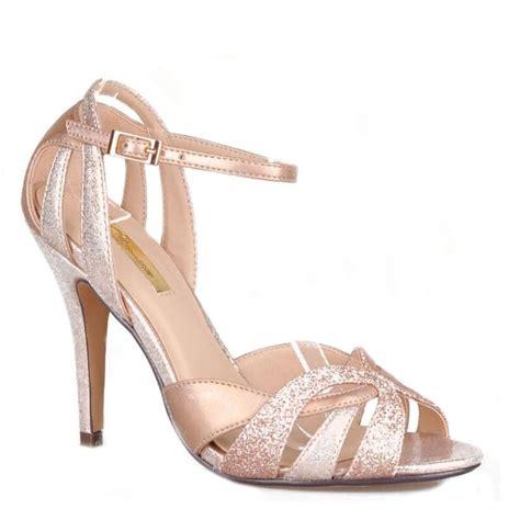 Glitter High Heel Sandals womens high heel peep toe sandals et610