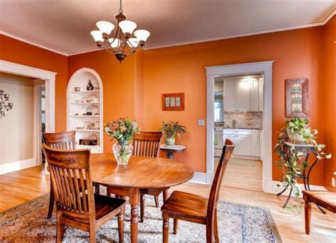color naranja en decoracion moderna decoraideas