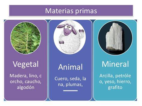 imagenes de origen animal vegetal y mineral tema 03 los materiales