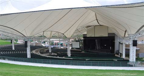 cynthia woodlands pavilion seating electro voice sound for renovated cynthia woods mitchell