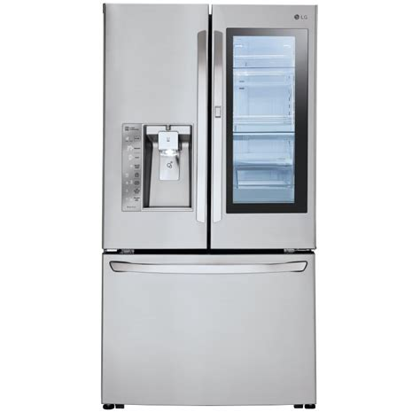 Lg Counter Depth Door Refrigerator by Lg Lfxc24796s 36 Quot Counter Depth Door In Door Door