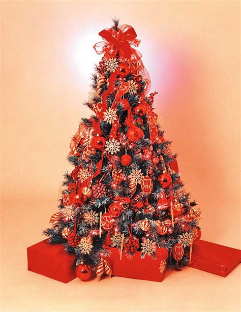 red christmas tree christmas tree hire regal red style fully decorated