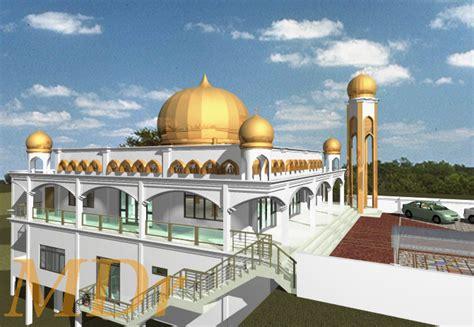 contoh desain gapura masjid contoh desain masjid minimalis modern terbaru 2016