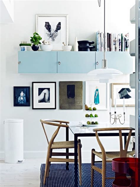 dining room storage ideas blue dining room design with storage ideas