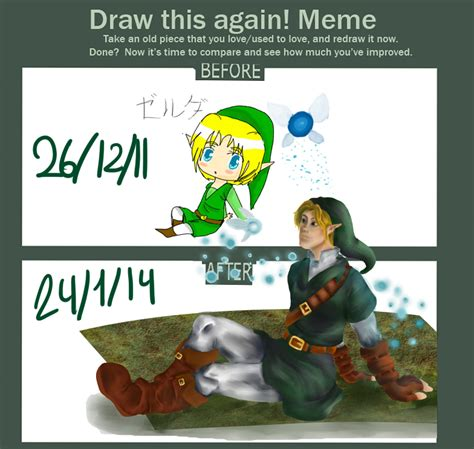 Meme Link - draw this again meme claudika link by claudika on deviantart