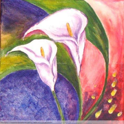 imagenes para pintar acrilico dos flores rosa carpentieri artelista com
