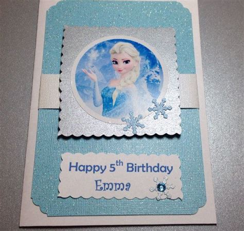 Frozen Birthday Cards Best 25 Frozen Cards Ideas On Pinterest Frozen Felt