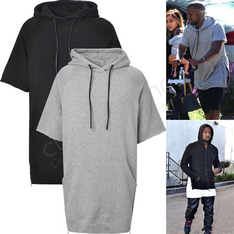 Sweater Hoodie Zipper Chain 2 new edge sleeve side zip hooded sweatshirt hoodie