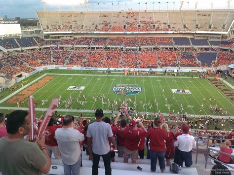 Bowl Section by Florida Citrus Bowl Stadium Section 234 Rateyourseats