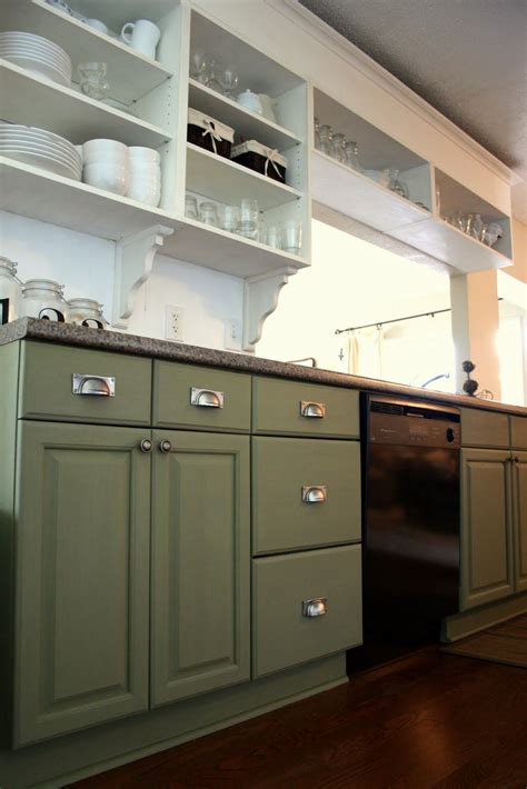 grey green painted kitchen cabinets the virginia house painting my cabinets with caromal