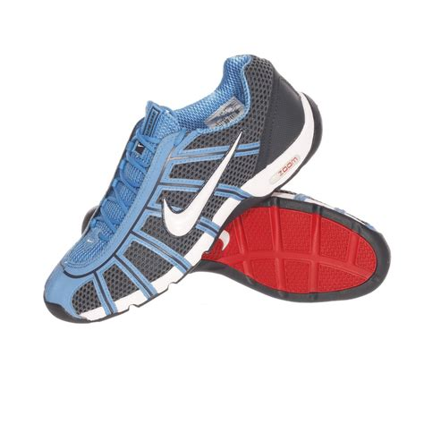 fencing shoes nike air zoom childrens blue fencing shoes