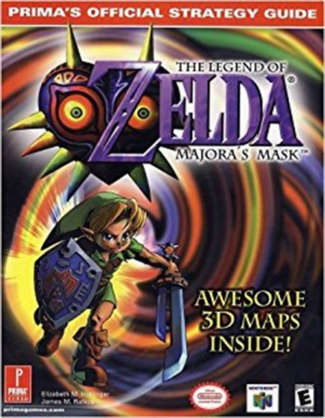 l a prima official guide books legend of majora s mask official strategy guide
