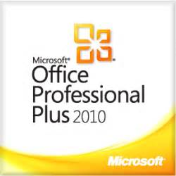 Office 2010 Pro Plus by Microsoft Office Professional 2010 Plus License